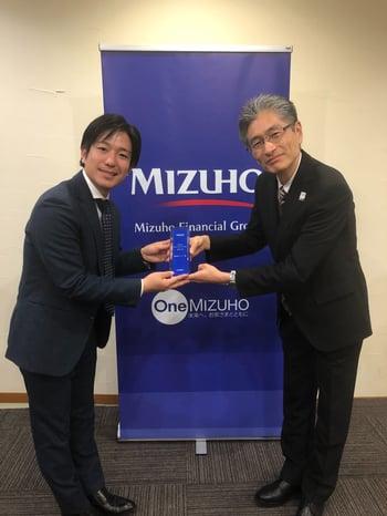 Mizuho Innovation Award 授賞式